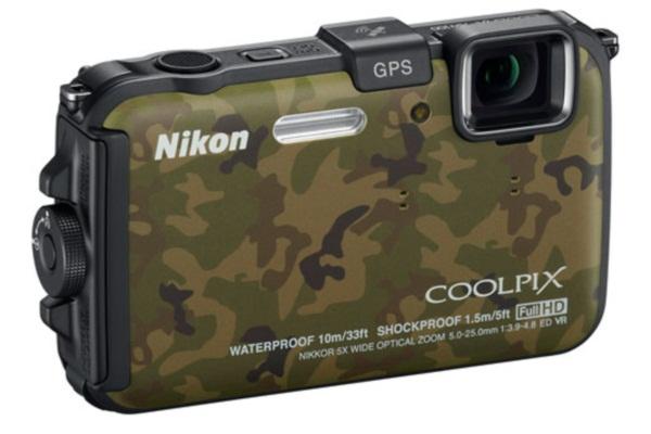 Nikon Coolpix AW100 - экстрим фото