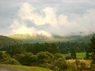 Горно-Алтайские облака над вершинами