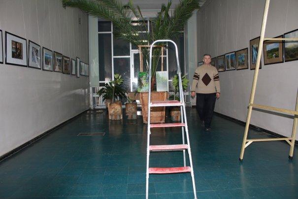 Монтаж экспозиции