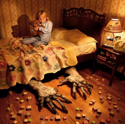"""Фото проект """"детские страхи"""""""