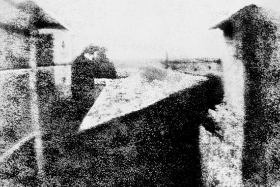 Жозеф Ньепс- Вид из окна