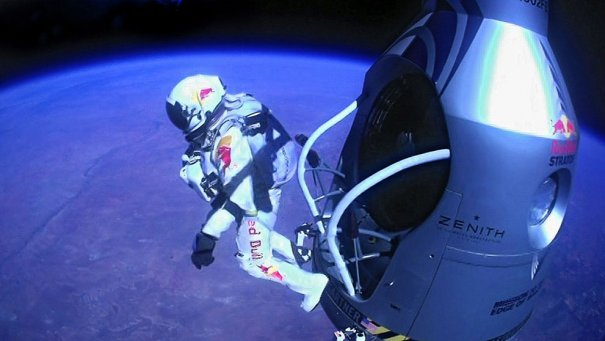 AP Photo/Red Bull Stratos