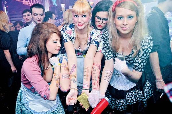 Ночной клуб в фото