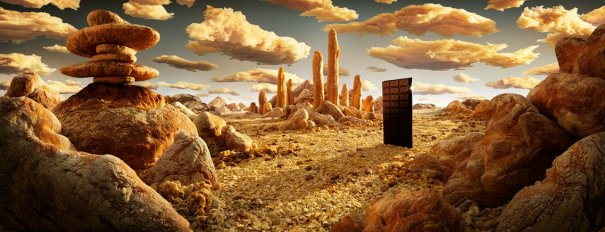 photo project - Carl Warner and his 'Foodscapes' - №1