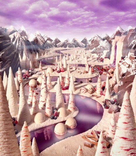 photo project - Carl Warner and his 'Foodscapes' - №9