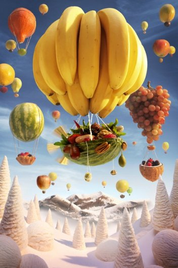 photo project - Carl Warner and his 'Foodscapes' - №10