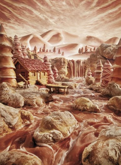 photo project - Carl Warner and his 'Foodscapes' - №13