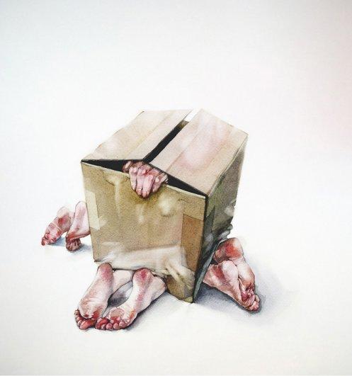 """Выставка Димы Ребуса """"Вся фишка в слабоумии"""" - №6"""