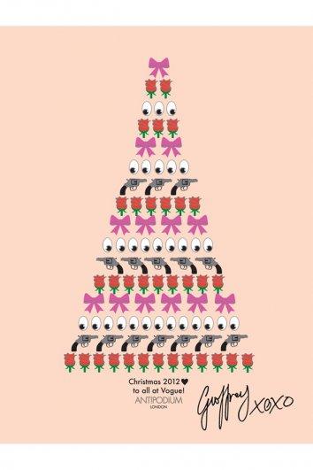 fashion - Рождественские открытки от Vogue! - №2