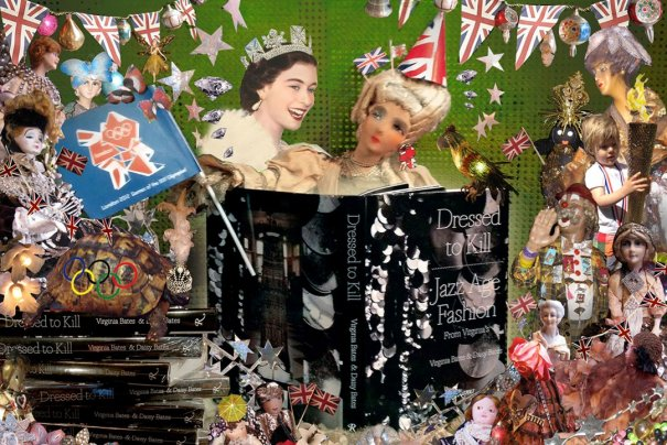 fashion - Рождественские открытки от Vogue! - №5