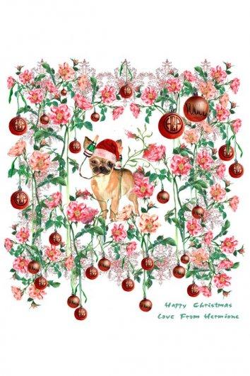 fashion - Рождественские открытки от Vogue! - №7