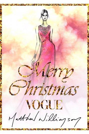 fashion - Рождественские открытки от Vogue! - №14