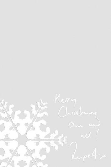 fashion - Рождественские открытки от Vogue! - №26