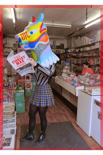 fashion - Рождественские открытки от Vogue! - №33
