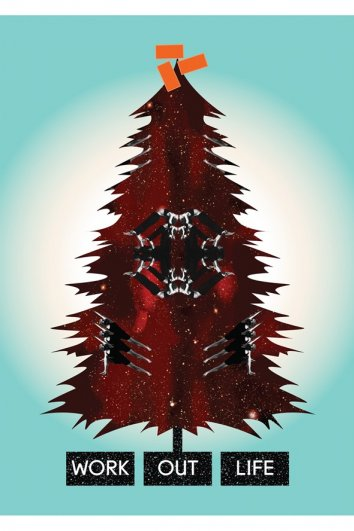fashion - Рождественские открытки от Vogue! - №36