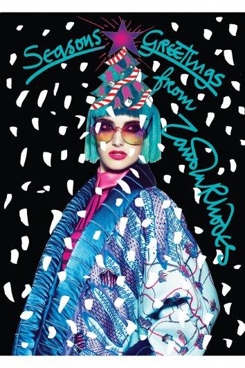 fashion - Рождественские открытки от Vogue! - №38
