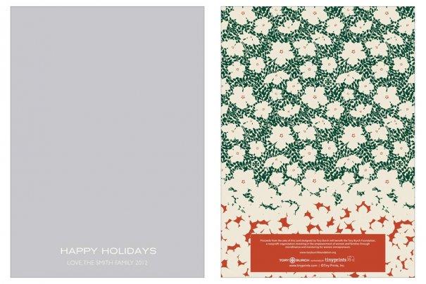 fashion - Рождественские открытки от Vogue! - №41