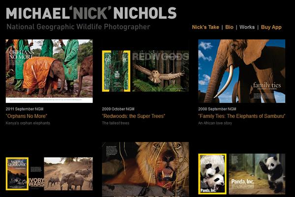 Сайты-портфолио фотографов дикой природы - №2