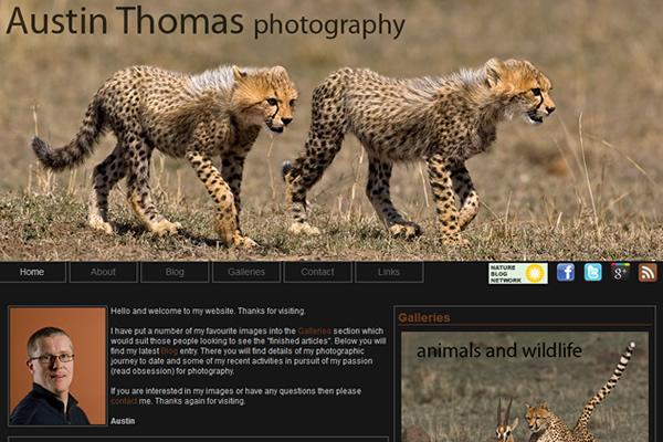 Сайты-портфолио фотографов дикой природы - №3