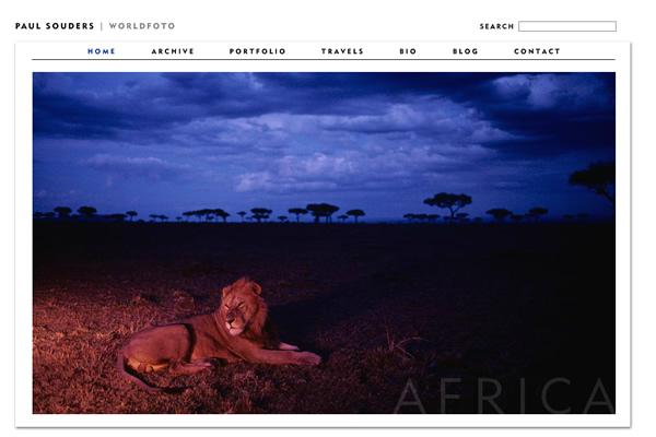Сайты-портфолио фотографов дикой природы - №4