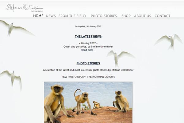 Сайты-портфолио фотографов дикой природы - №13