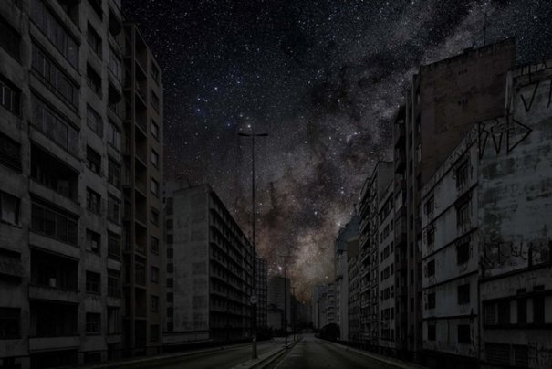город темный фото