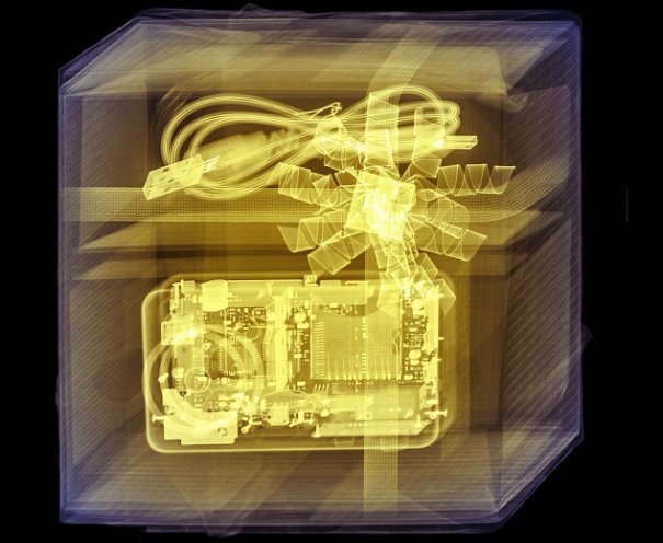science photo - Цветные рентгеновские снимки подарков! - №3