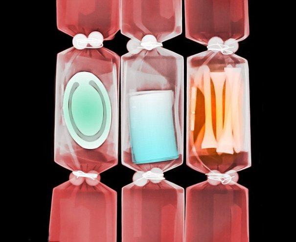 science photo - Цветные рентгеновские снимки подарков! - №10