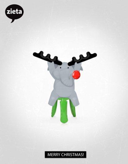 Рождественские открытки 2012 - №21