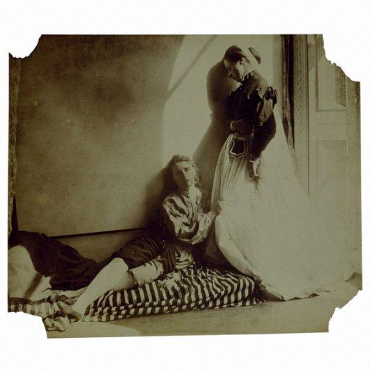 старинные фото девушек