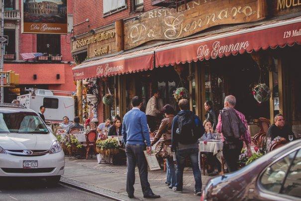 В каком районе Нью-Йорка перекусить? - №14