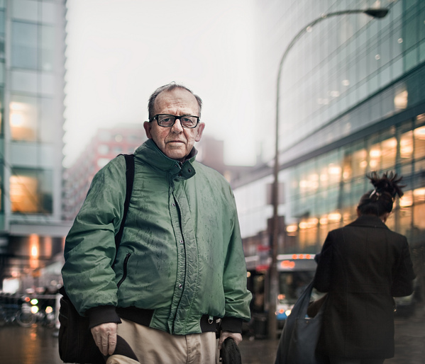 Серия фотографий незнакомцев Бенуа Пайе/Benoit Paillé - №10