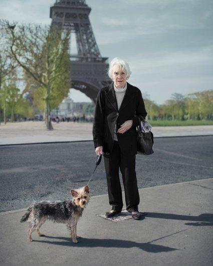 Серия фотографий незнакомцев Бенуа Пайе/Benoit Paillé - №16