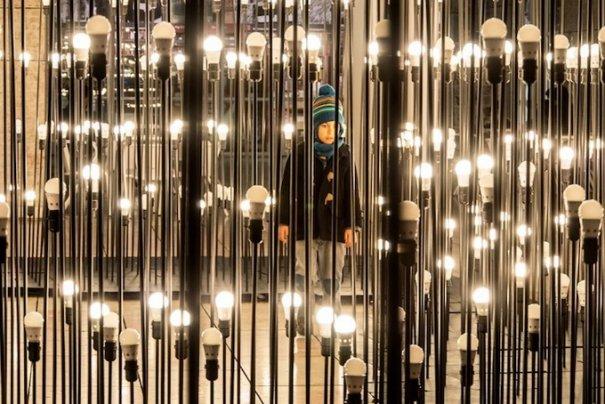 Сад огней IKEA в Лиссабоне - №5