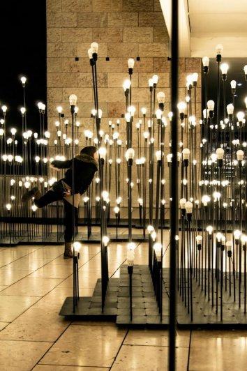 Сад огней IKEA в Лиссабоне - №9