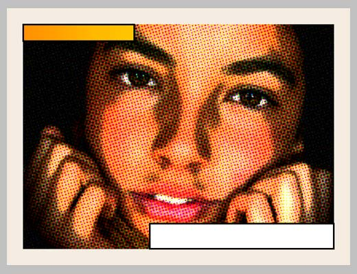 Уроки фотошопа: эффект комиксов - №7