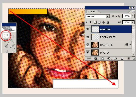 Уроки фотошопа: эффект комиксов - №8