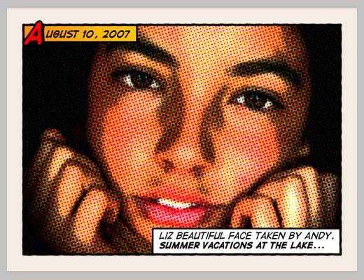 Уроки фотошопа: эффект комиксов - №10