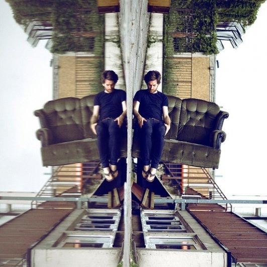 Автопортреты вверх ногами - Колтон Моррис/Caulton Morris - №20
