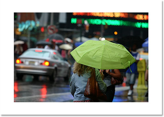 Уроки фотошопа: добавляем дождь на фото - №5