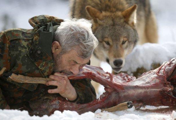 Мужчина - волк - №15