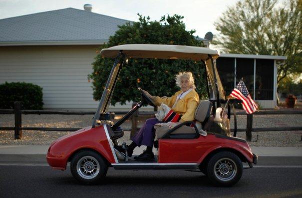 Город пенсионеров в США - №22
