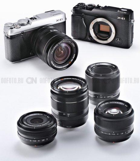 Fujifilm X-E1 - Хороший беззеркальный фотоаппарат. Новинка! - №2