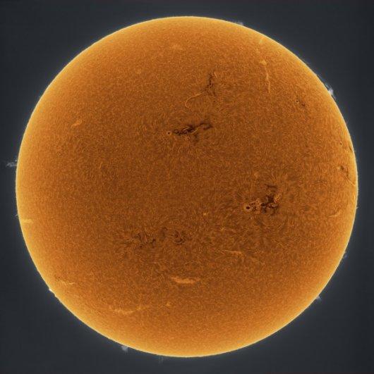 Интересные и очень красивые фотографии солнца! - №3