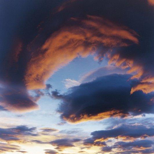 Небо с вершины Фудзиямы - №13