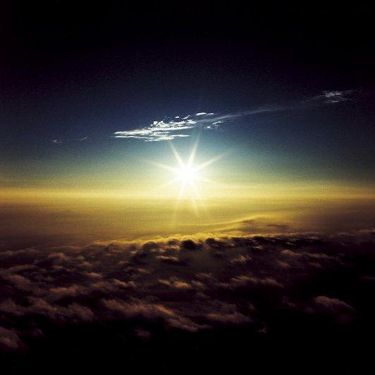 Небо с вершины Фудзиямы - №14