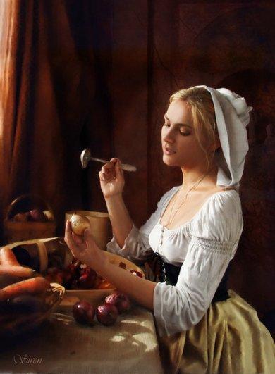 Анна Беркоз. Получить оригинальный красивый портрет приятно - №1