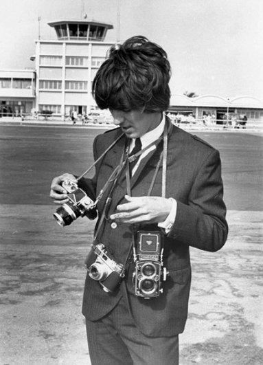 Знаменитые люди с фотоаппаратом в руках - №2