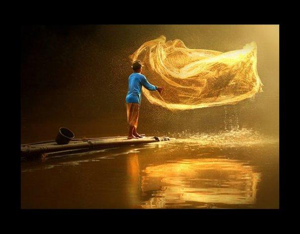 Урок Фотошопа. Художественная обработка фотографии в стиле Rarindra Prakarsa - №1