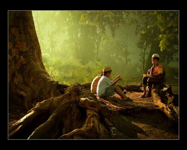 Урок Фотошопа. Художественная обработка фотографии в стиле Rarindra Prakarsa - №3